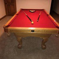 Kasson 8' Pool Table