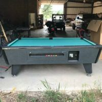 Pool Table Coin Operated