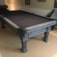 Beautiful, High End OLHAUSEN Pool Table & Ping Pong Topper