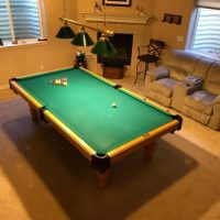 """4 1/2"""" x 9"""" Olhausen Accufast Pool Table"""