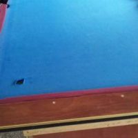 Pool Table Blue felt